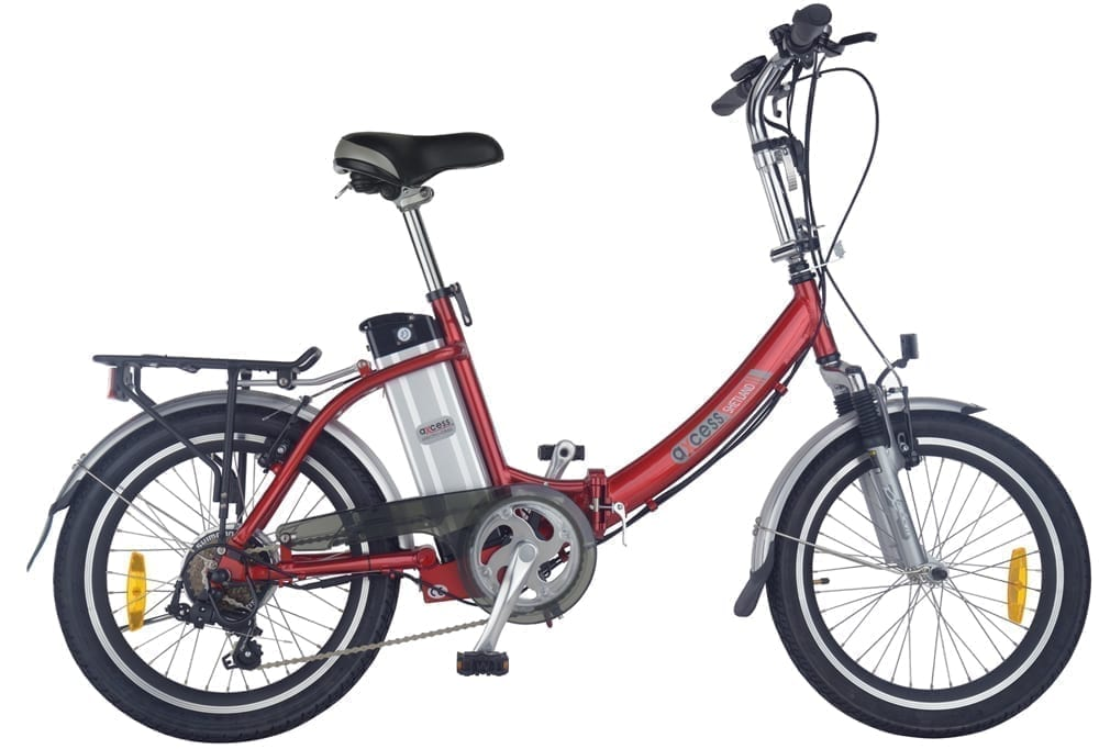axcess shetland folding electric bike