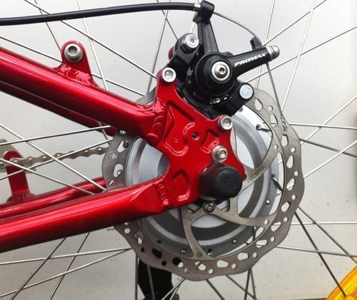 how to add disc brakes to bike