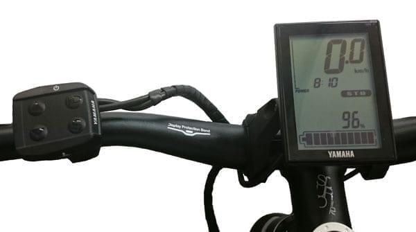 Yamaha Display and controls