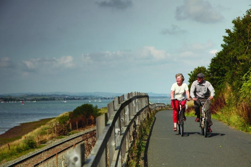 exe estuary cycle trail