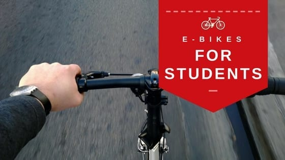 e-bikes for students