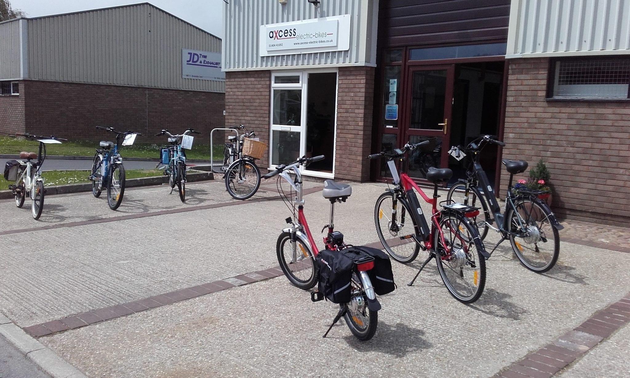 axcess electric bike store devon