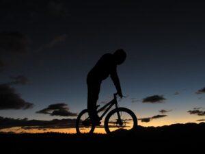 mountain electric biking
