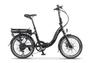 Wisper 806SE Electric Folding Bike - Black