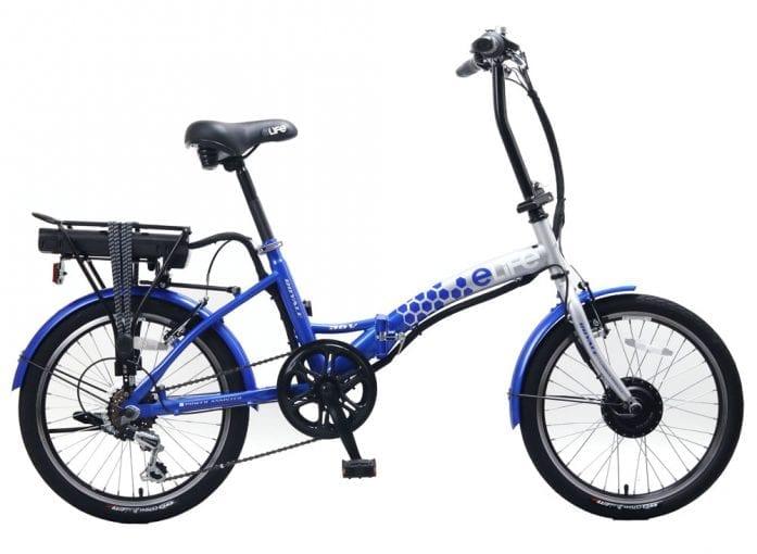 Royale Blue Elife Electric Bike