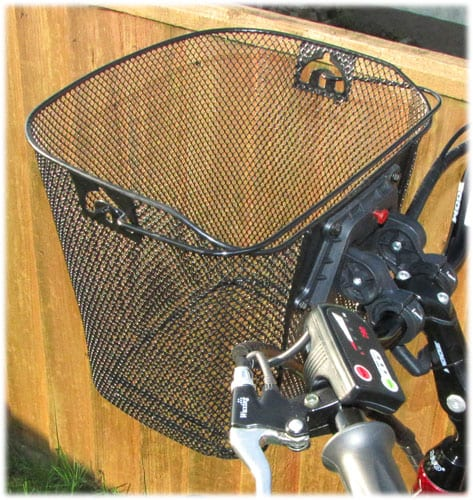 Wire Basket for handlebars