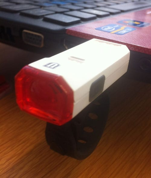 Union LED rechargeable rear light