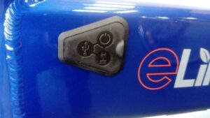 eLife Air Power and charging port