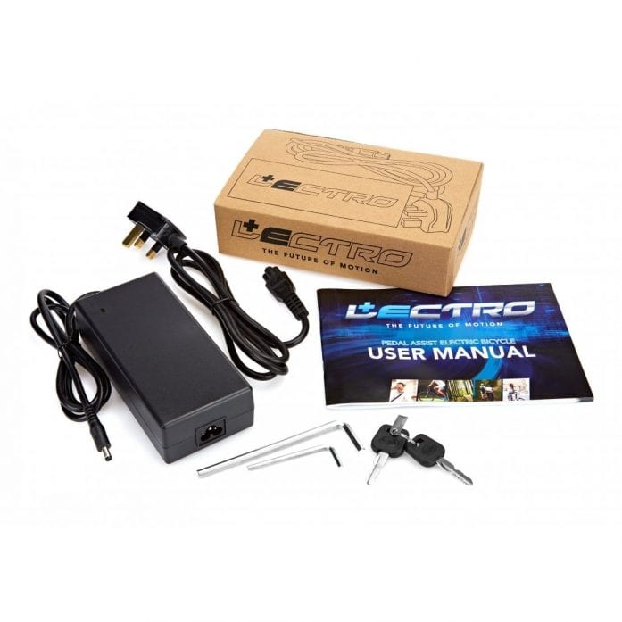 Lectro peak manual and charger