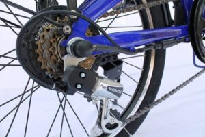 Shimano 6 speed gears as seen on Lifecycle Buzz