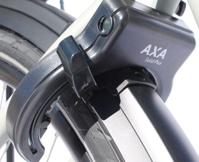 AXA rear wheel lock on Ideal Futour