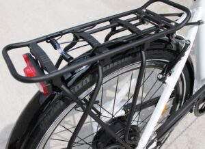 Rear rack as seen on a Axcess Hunter2 White