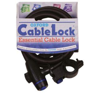 Oxford Cable Lock (smoke)