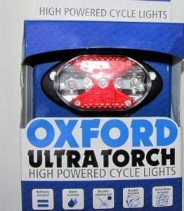 Oxford rear carrier light with 5 LEDs (LD287