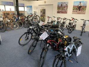 AXcess Electric Bikes Honiton Showroom