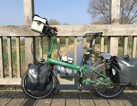 folding bike axcess