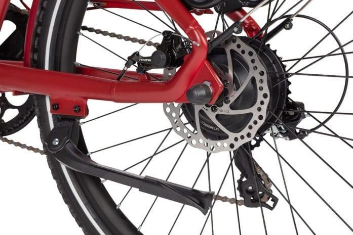 Wisper rear disc brake